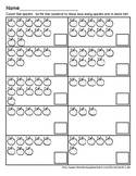 Apple Counting Worksheet 3