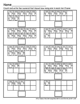 Apple Counting Worksheet 5