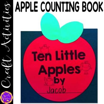 Apple Counting book for Kindergarten