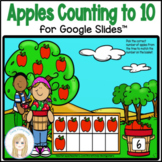 Counting to 10 Apple Ten Frame Activity and Worksheets for