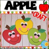 Apple Craft for Fall or Back to School