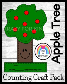 Apple Craft: Apple Counting Tree