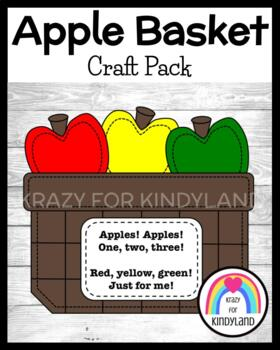 Apple Craft: Basket of Apples
