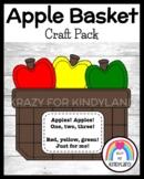 Basket of Apples Craft