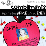Apple Craft {Crafty Compliments September} Back to School Craft