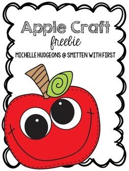 Apple Craft {FREEBIE}