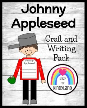 Apple Craft: Johnny Appleseed Craft and Writing