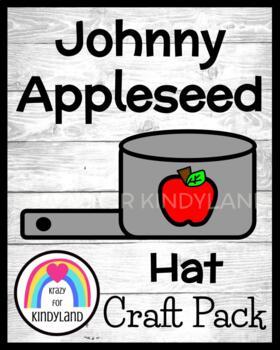 Apple Craft: Johnny Appleseed Hat FREEBIE!