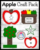 Apple Craft Pack: Book, Counting, Poem, Basket (Fall, Autumn, Johnny Appleseed)