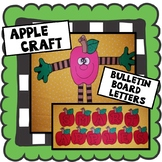 "Apple Craft, Fall Craft ""Smart Apples"" Bulletin Board Letters!"