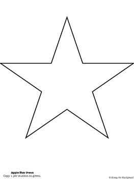 Apple Craft: Star Poem