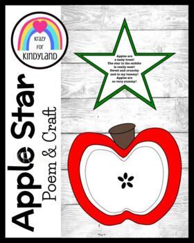 Apple Star Poem Craft