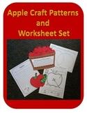 Apple Craft Templates and Worksheet Set