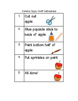 Apple Craft Visual Instructions