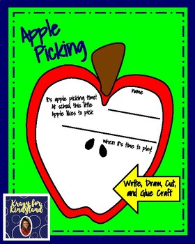 Apple Craft and Writing