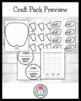 Apple Craft and Writing Value Pack: Graph, Hat, Johnny Appleseed, Lifecycle