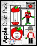 Apple Craft and Writing Value Pack: Graph, Hat, Johnny App