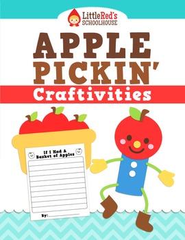 Apple Craftivities - Apple Pickin' Craftivities