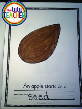 Apple Craftivity Book