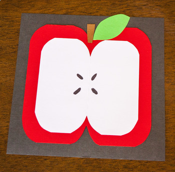 Art Project Back to School Apple