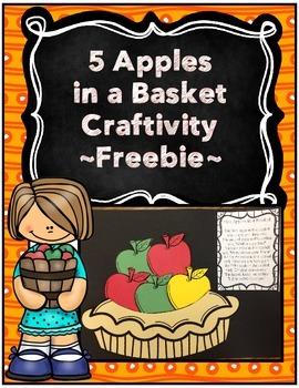 Apple Craftivity ~ Freebie~