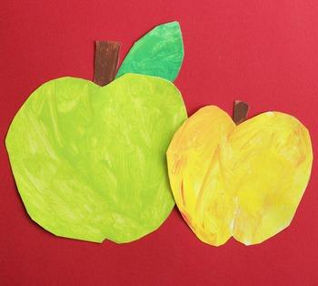 Apple Craftivity Template
