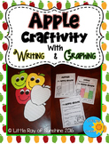 Apple Craftivity with Writing & Graphing