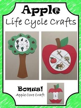 Apple Crafts ~ Apple Tree and Apple Core