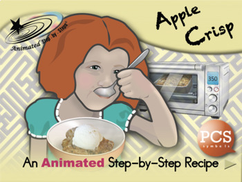 Apple Crisp - Animated Step-by-Step Recipe PCS