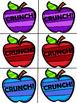 Apple Crunch! CVC Word Games