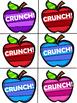 Apple Crunch! CVCe Word Games