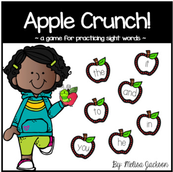 Apple Crunch Sight Word Game
