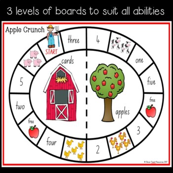 Apple Crunch - a fun number recognition game!