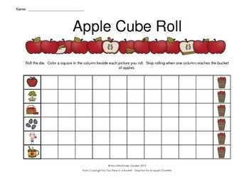 Apple Cube Roll for SmartBoard