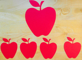 Apple Cut Outs for Your Classroom (This item is shipped)