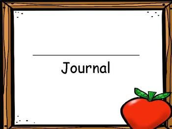 Apple Cut and Paste Journals