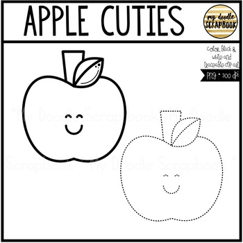 Apple Cuties (Clip Art for Personal & Commercial Use)