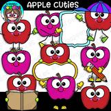 Apple Cuties Clipart {Scrappin Doodles Clipart}