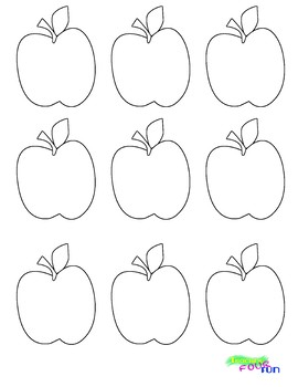 Apple Cutouts (BW and Color)