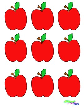 Apple Cutouts Bundle