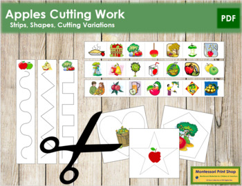 Apple Cutting Strips