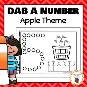 Apple Dab A Number 0-10