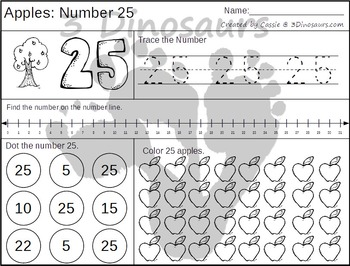 Apple Daily Themed Number