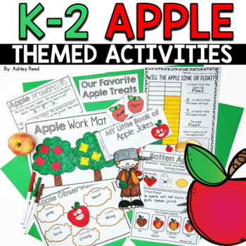 Apple Week {A Cross-Curricular Unit Celebrating Apples and