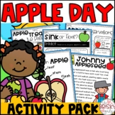 Apple Day Activities (Johnny Appleseed Activities)