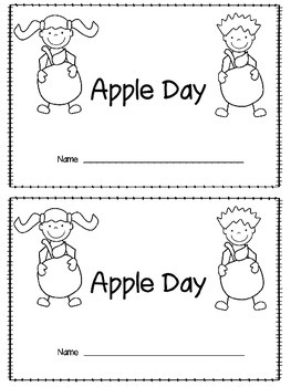 Apple Day Booklet and Apple Glyph