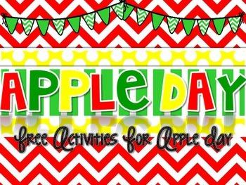 Apple Day {FREEBIE}
