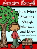 Apple Day!! Fun Math Stations and More