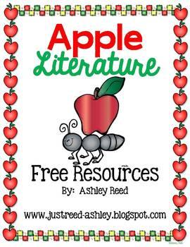 Apple Day Literature Freebies