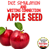 Apple Writing Activity Dice Simulation